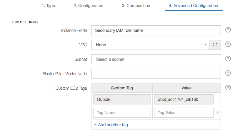 Creating Dual IAM Roles for QDS — Qubole Data Service 1 0 documentation