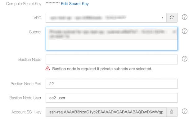 Managing Clusters — Qubole Data Service 1 0 documentation