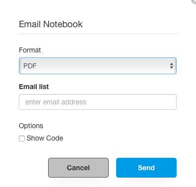 Managing Notebooks — Qubole Data Service 1 0 documentation