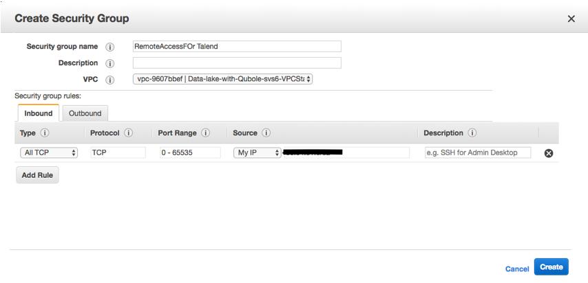 Configuring Qubole to Interact with Talend — Qubole Data